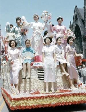 Parade on Woodward Avenue, c 1970