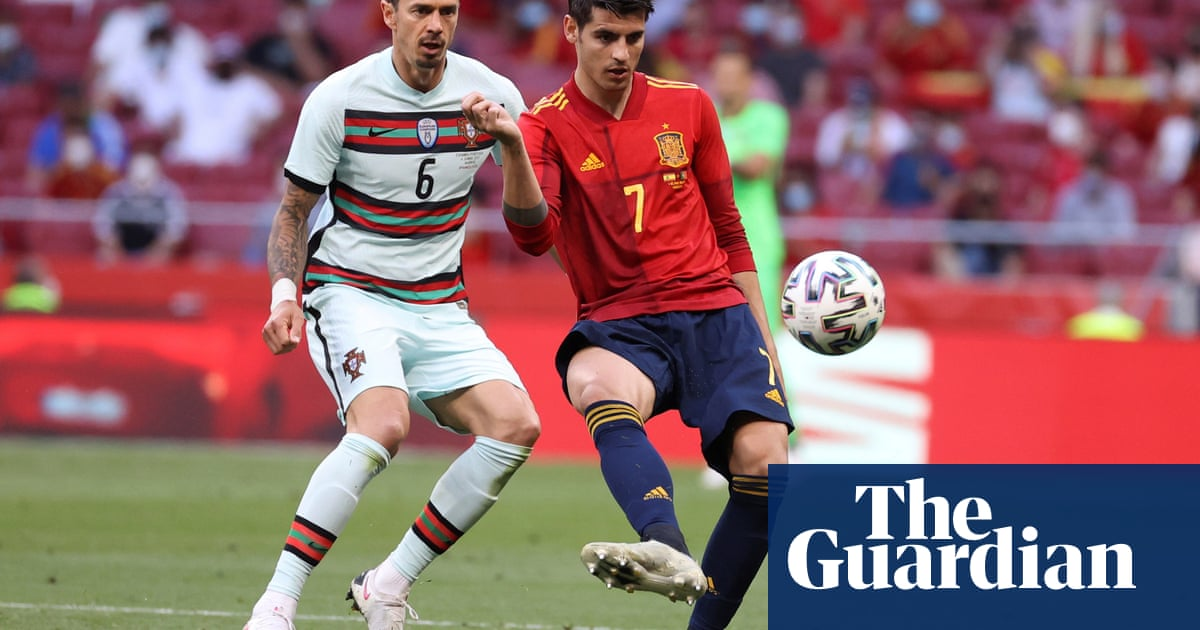 Álvaro Morata and Spain booed by home crowd after friendly draw with Portugal