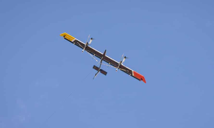 A Makani energy kite prototype