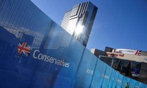 The Conservative Party conference in Birmingham