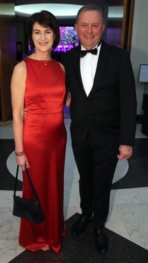 Anthony Albanese and Carmel Tebbutt