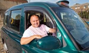 Tony, the would-be jockey turned cabbie, in 63 Up