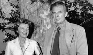 Aldous Huxley and his wife, Laura