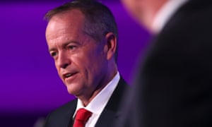 Bill Shorten during the final election debate