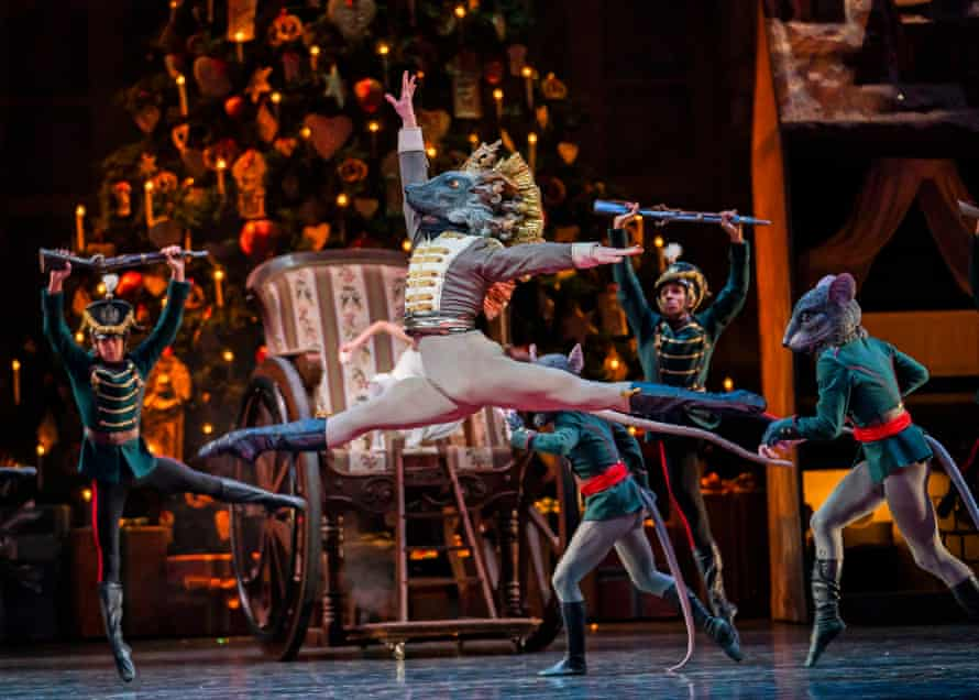 David Donnelly as the Mouse King in The Nutcracker.