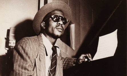 Thelonious Monk at the piano.