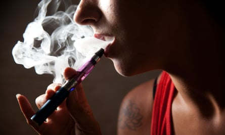 What has led to the increase in people believing e-cigarettes are as harmful as smoking?