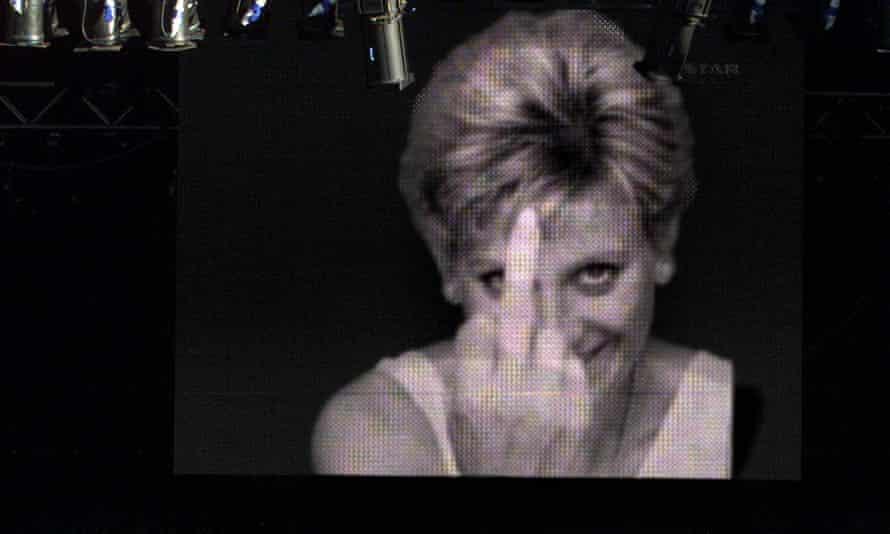 A fake image of Princess Diana by the UK artist Alison Jackson