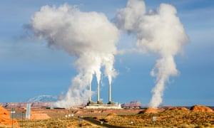 The Navajo Generating Station, in north Arizona.