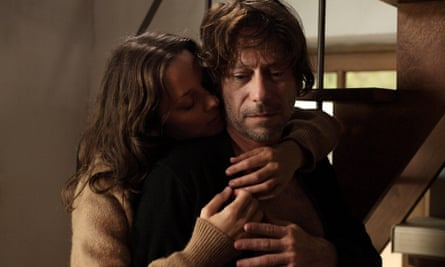 Jarring ... Maron Cotillard and Mathieu Amalric in Ismael's Ghosts.
