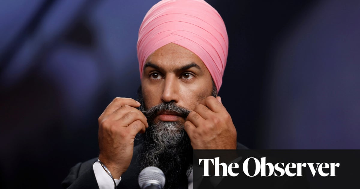 Jagmeet Singh: the ex-lawyer and TikTok star who could topple Trudeau