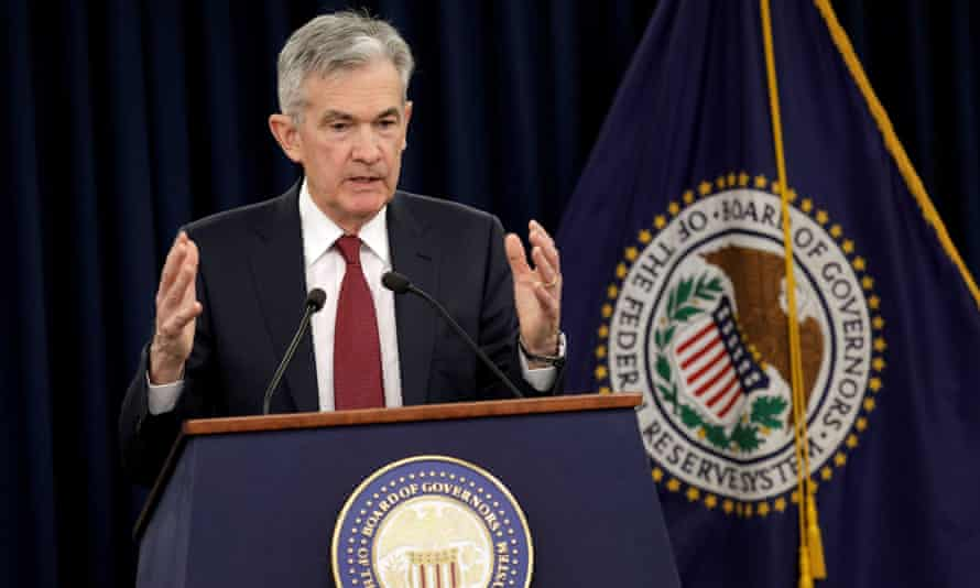 Jerome Powell of the US Federal Reserve