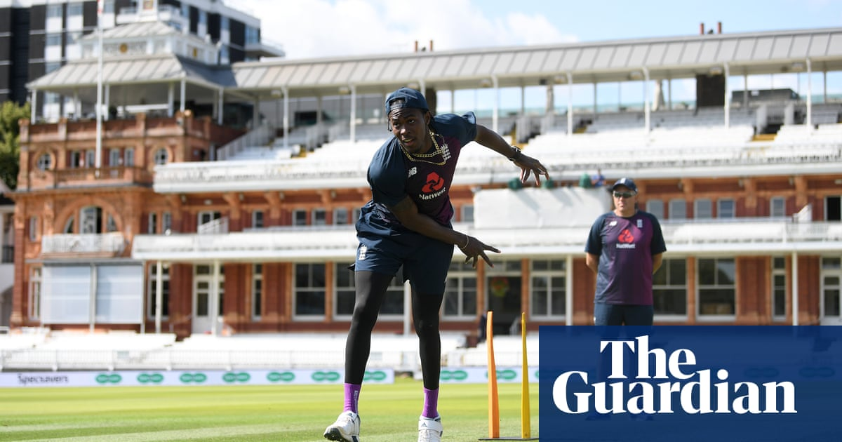 Lord's awaits Jofra Archer and England will hope for instant impact | Vic Marks
