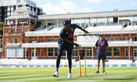 Jofra Archer at Lord's