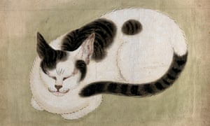 Wellcome Collection. A Sleeping Cat, 19th century, unknown artist.