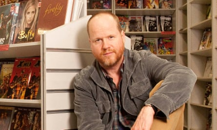 Joss Whedon, who's bringing Batgirl to the big screen.