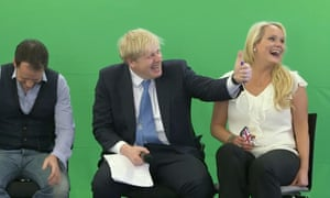 Boris Johnson, with Jennifer Arcuri, guest speaking at the Innotech summit in July 2013.
