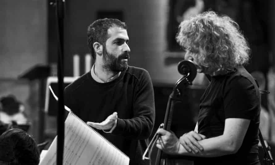 Omer Meir Wellber and Steven Isserlis in a recording session for No Longer Mourn for Me.