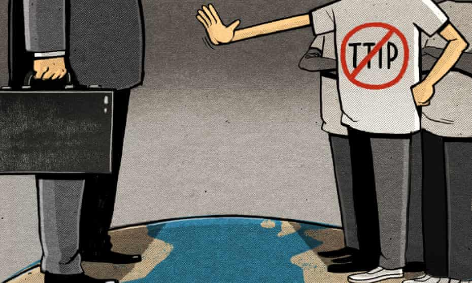 Ben Jennings on TTIP and people's power