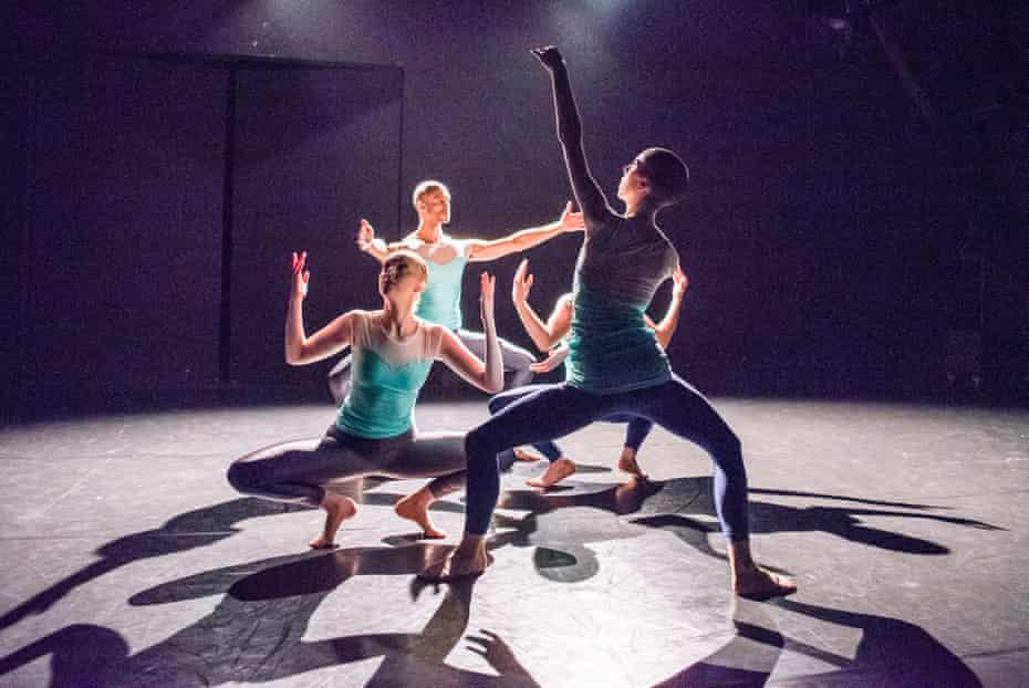 Elegance and rhythm … Returning by Julie Cunningham and Company.