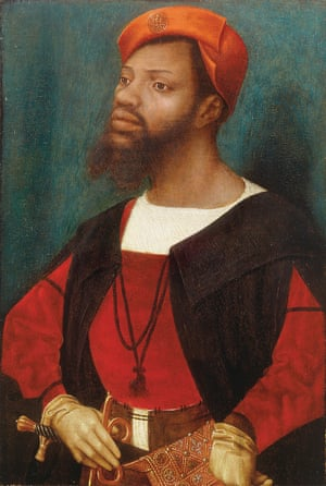 Portrait of a Moor by Jan Mostaert, early 16th century