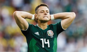 Javier Hernández was far from his best against Sweden on Wednesday