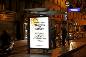 A poster by street artist Climate Games