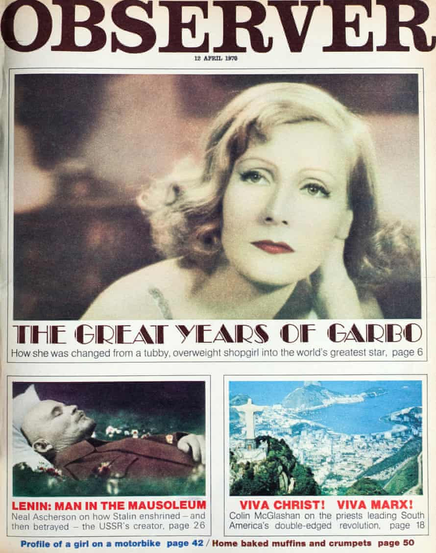 12 April 1970. The Great Years of Garbo. Original photographer unknown.