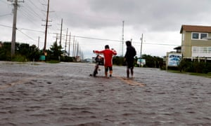 Hurricane Dorian in Cape Hatteras in North Carolina last year.