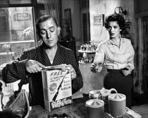 Alec Guinness and O'Hara in Our Man In Havana, 1959