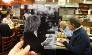 Katz's Deli, New York in When Harry Met Sally (1989) and today.