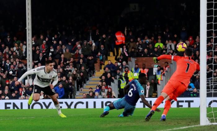 b1545b24a Fulham 1-2 Tottenham Hotspur  Premier League – as it happened ...