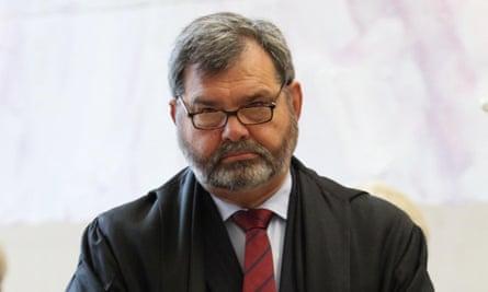 Chief justice of Queensland Tim Carmody