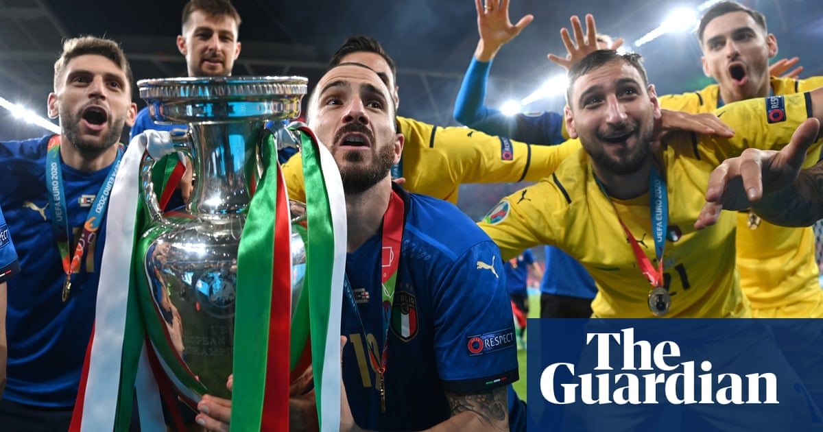 Italy are champions as England relive penalty pain – Euro 2020 Football Daily