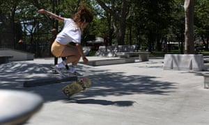 A still from Skate Kitchen by Crystal Moselle