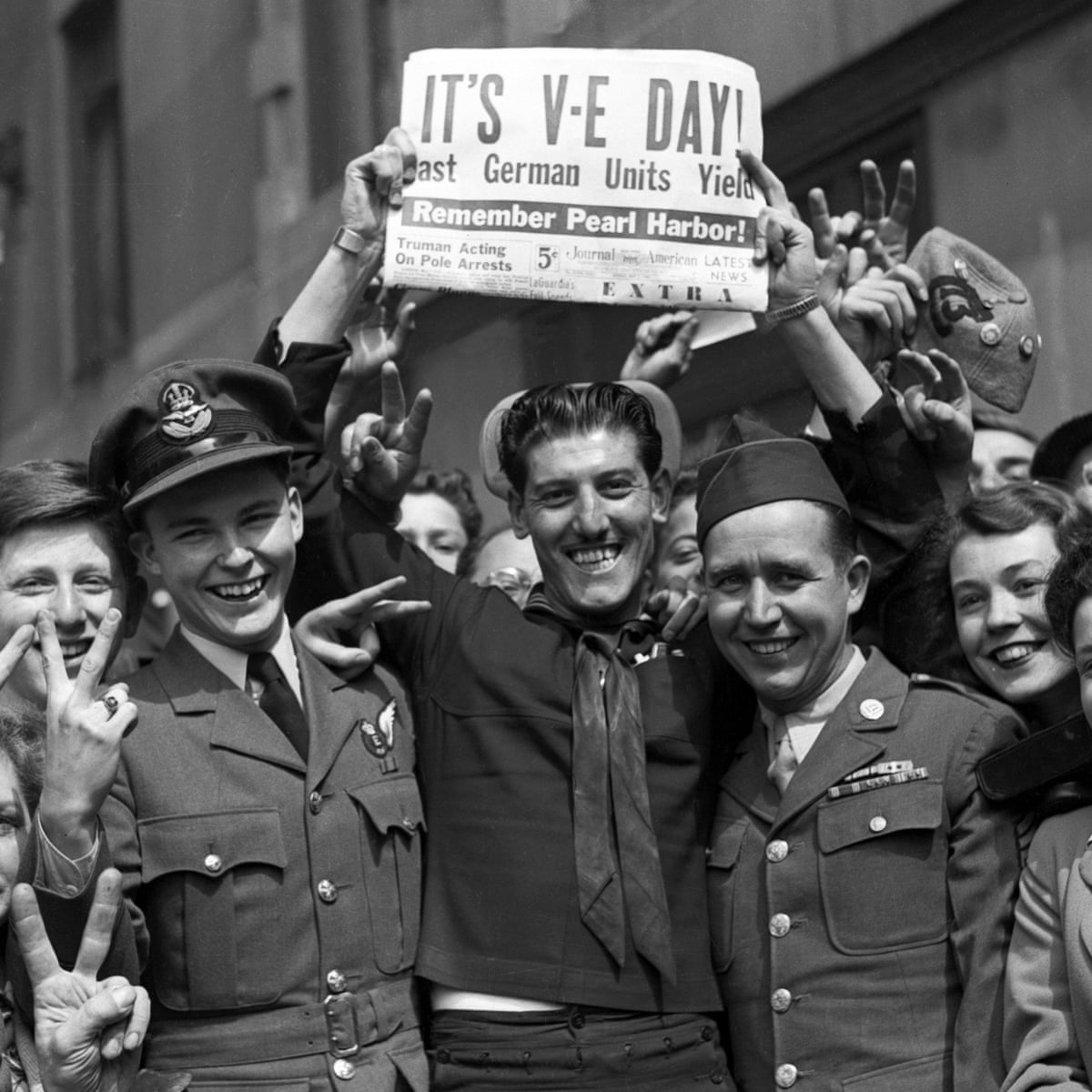 VE Day 'We have won the right to hope'   archive, May 20   VE ...