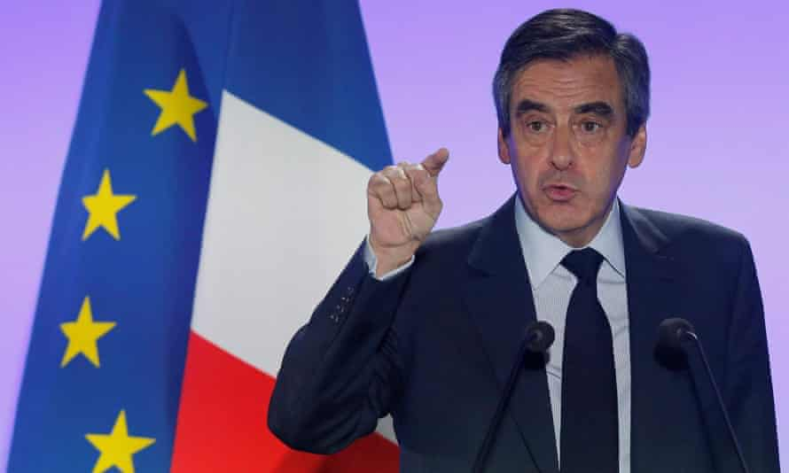 François Fillon's reputation has been wrecked by allegations that he used public funds to pay his family for work they never did.