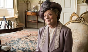 Maggie Smith as Dowager Countess of Grantham, in Downton Abbey