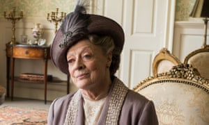 Maggie Smith as Violet, Dowager Countess of Grantham in TV show Downton Abbey