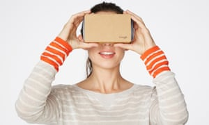 Current smartphones can double as virtual reality headsets – with plenty of apps for that.