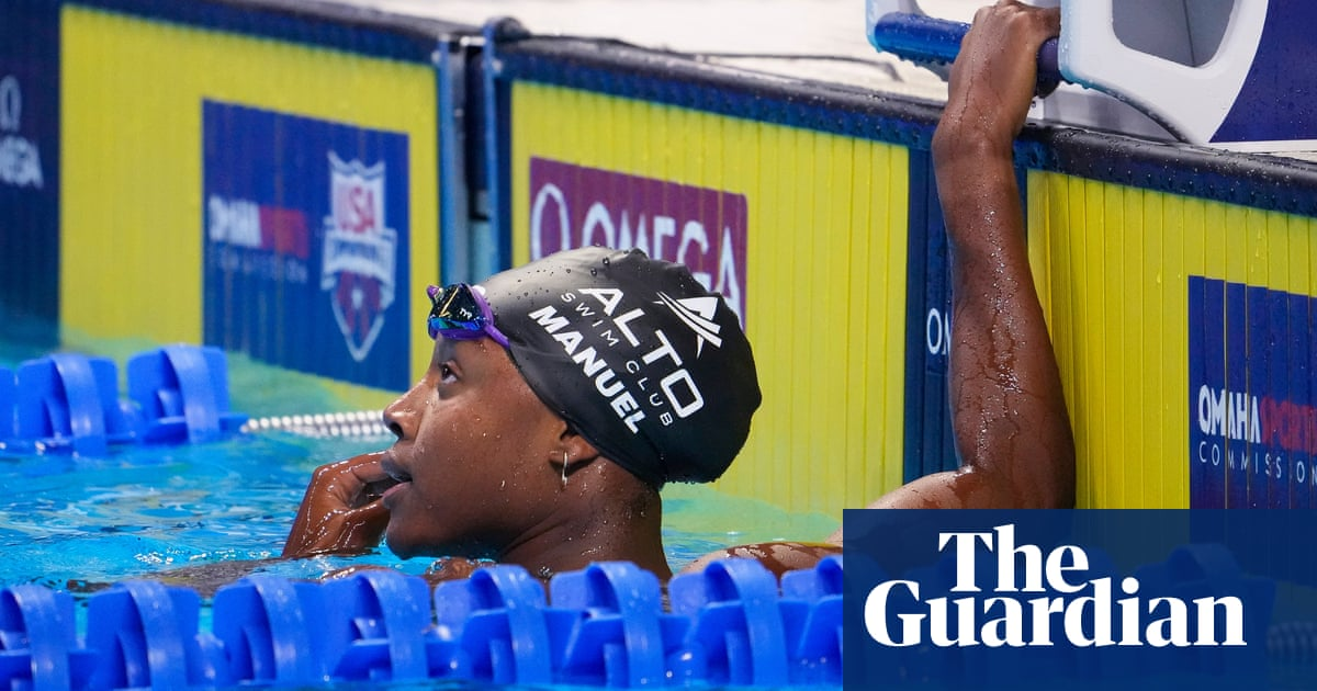 Olympic champion Simone Manuel fails to make 100m freestyle final at US trials