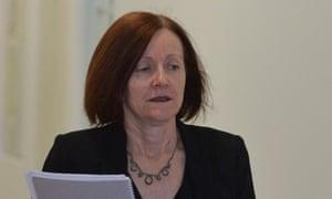 Federal Greens senator Rachel Siewert
