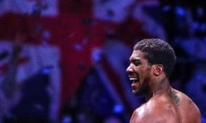 British boxer Anthony Joshua