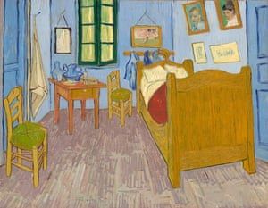 The smaller of Van Gogh's three almost identical Bedroom at Arles paintings is on display at the Musée d'Orsay in Paris.
