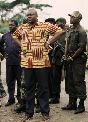 Congolese rebel leader Jean-Pierre Bemba ... one of only two war criminals convicted by the ICC