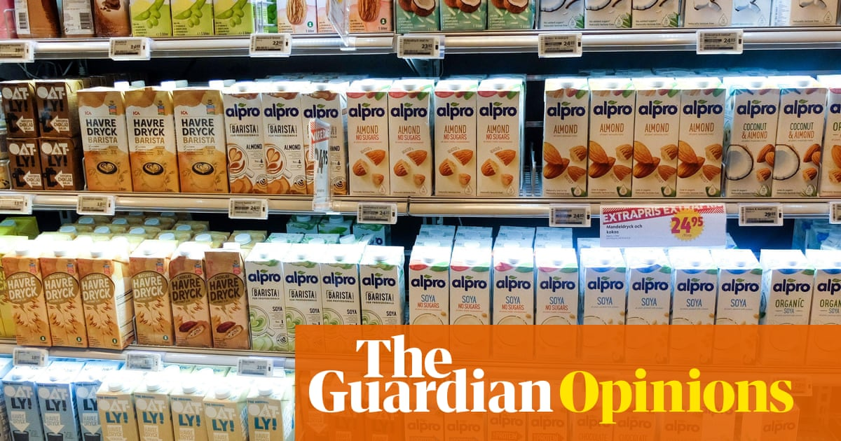 I've been trying milk substitutes in my tea – it's a stomach-churning experience