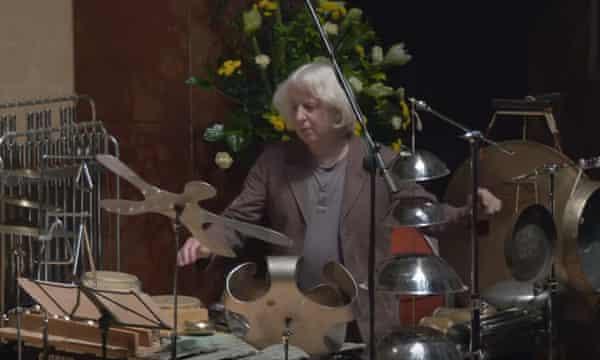Percussionist Simon Limbrick