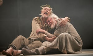 Sir Ian McKellen in an RSC production of King Lear, 2008.