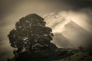 Martin Birks of Chrome Hill in the Peak District, Derbyshire, which has won the Living the view 2016