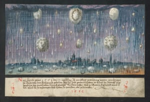 In 1552, a terrible storm with hail descended on Dordrecht in Holland. It lasted about half an hour. Several of the stones weighed up to a few pounds.